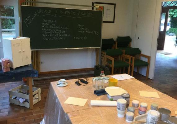 Kreidefarben Workshop