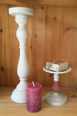 Candleholder with Chalk Paint