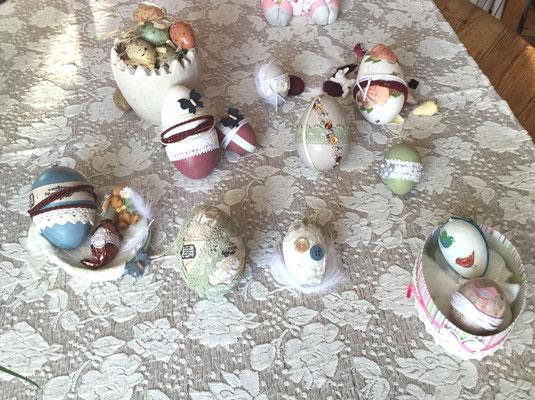 Gruppenbild mit Ei