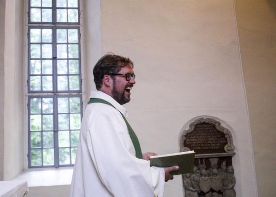 Trauung in der Kirche