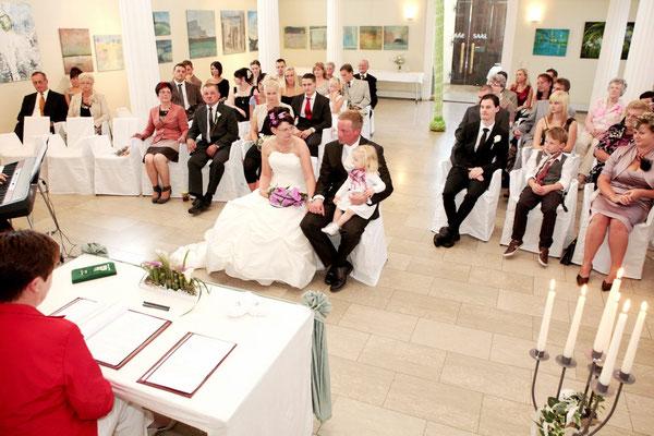 Hochzeit in Waldenburg Franken | Kirche