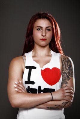 Studioshooting mit Tattoomodel Hazel