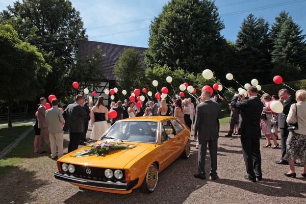 Trauung im VW Polo