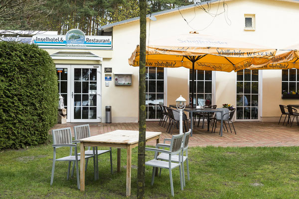 Restaurant und Inselhotel auf der Herzinsel