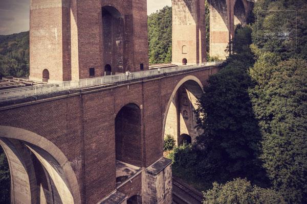 die Elstertalbrücke im Vogtland