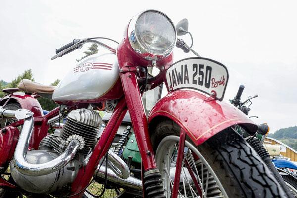 Details der Jawa 250ccm