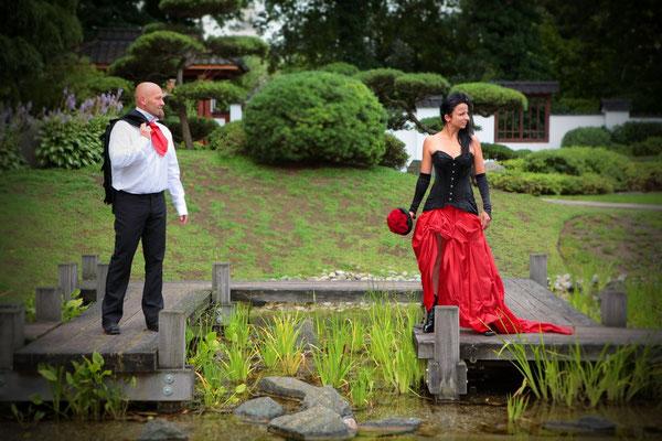 Hochzeit in Bad Salzungen | Japanischer Garten