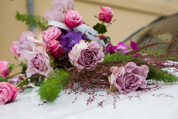 Hochzeit - Blumebouquet    by www.ihr-besonderer-tag.de