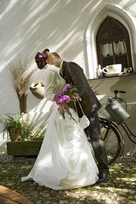 Hochzeitsshooting im Grünfelder Park bei Waldenburg in Sachsen