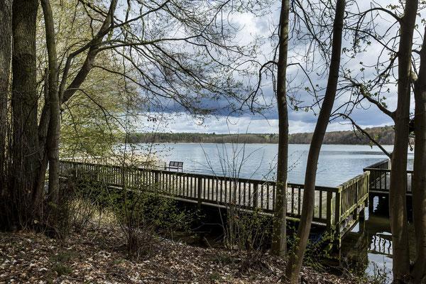 Blick auf den Brückentinsee