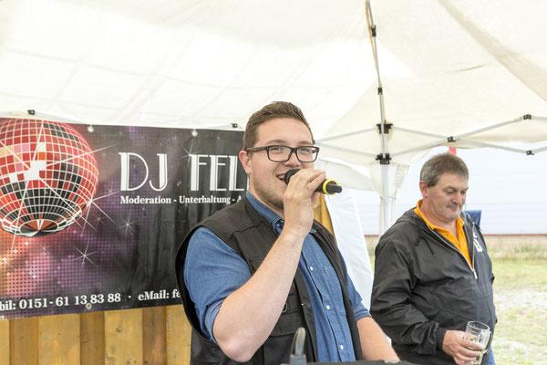 DJ Felix heitzte mit seiner Disco richtig ein ...