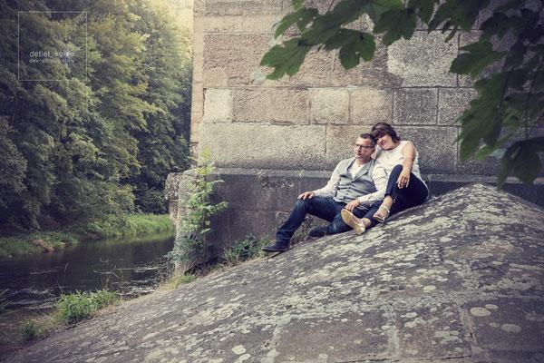 Romantik am Fuß der Elstertalbrücke