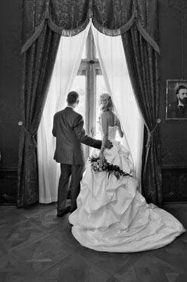 Brautpaar im Unteren Schloß in Greiz    by www.ihr-besonderer-tag.de