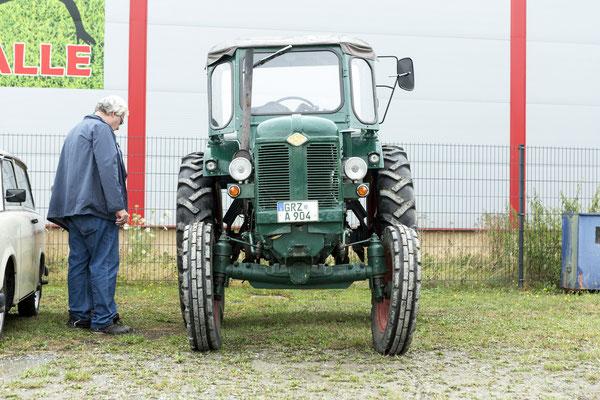 auch ein Traktor war da