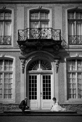Hochzeit vor dem Sommerpalais im Greizer Schloßpark    by www.ihr-besonderer-tag.de