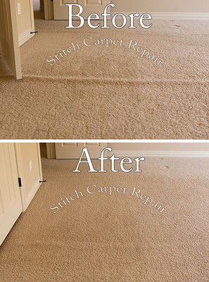 Carpet stretching in the master bedroom Austin Round Rock Cedar Park Manor Bee Cave San Marco