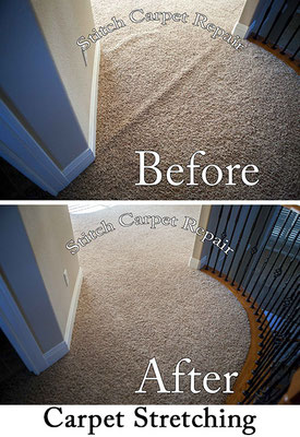 Carpet stretching between a hallway and game room Austin Round Rock Cedar Park