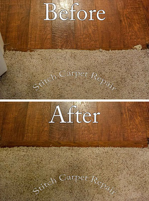 Carpet transition repair Austin Round Rock Cedar Park Manor Bee Cave San Marcos