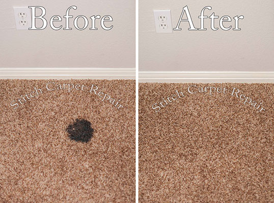 Carpet patch burn repair Austin Round Rock Cedar Park Manor Bee Cave San Marcos