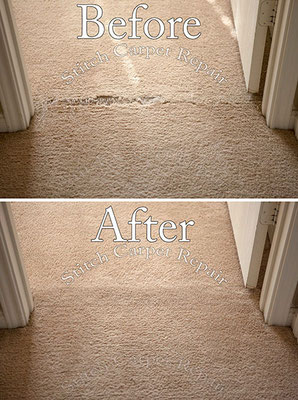 Carpet patch pet damage in the doorway Austin Round Rock Cedar Park Manor Bee Cave San Marcos