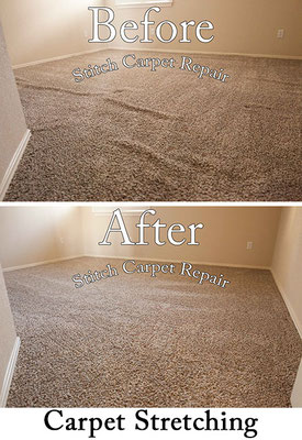 Carpet stretching in the bedroom Austin Round Rock Cedar Park Manor Bee Cave San Marcos