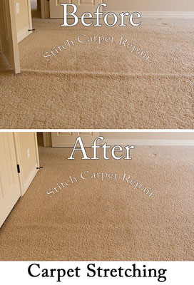 Carpet stretching in the master bedroom Austin Round Rock Cedar Park Manor