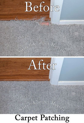 Carpet patch cat pet damage in bedroom Austin Round Rock Cedar Park Manor Bee Cave San Marcos