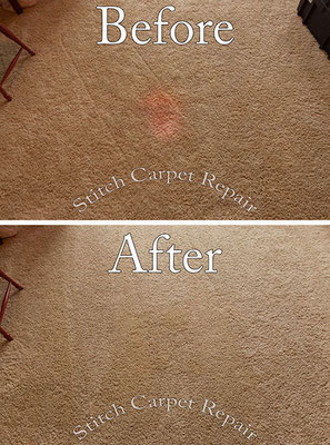 Stained carpet repair patch Austin Round Rock Cedar Park Manor Bee Cave San Marcos