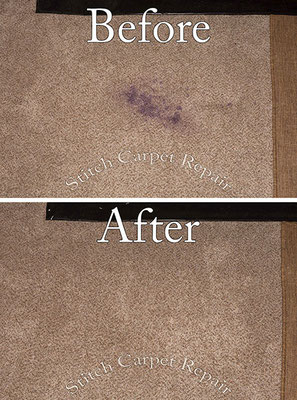 Ink stain carpet repair patch Austin Round Rock Cedar Park Manor Bee Cave San Marcos