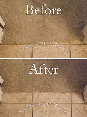 Carpet transition repair new tile installation Austin Round Rock Cedar Park Manor Bee Cave San Marcos