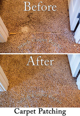 Carpet patching pet damage in bedroom Austin Round Rock Cedar Park Manor Bee Cave San Marcos