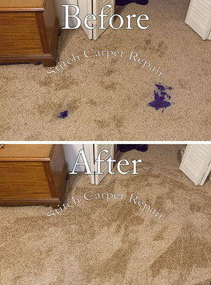 Carpet repair Ink stain patch Austin Round Rock Cedar Park Manor Bee Cave San Marcos