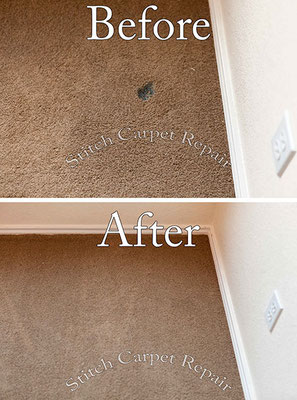 Carpet burn repair patch Austin Round Rock Cedar Park Manor Bee Cave San Marcos