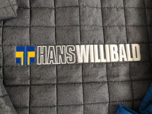 Hans Willibald Jacke bestickt