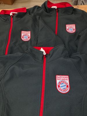 FC Bayern München Fanclub Darching Rot Weiß STick