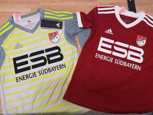 Adidas Trikotsatz bedruckt SV Miesbach #vonbayernfürbayern