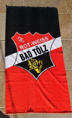Handtuch bedruckt SC Rot Weiß Bad Tölz