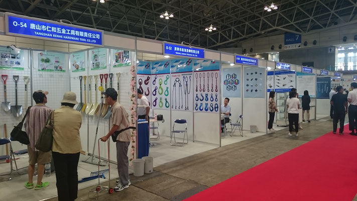 JAPAN DIY HOMECENTER SHOW海外ブース写真