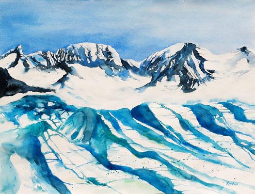 Glacier 42 x 56 - nicht eingerahmt/ohne Passepartout CHF 300