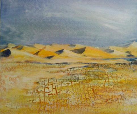 Dunes, 50 x 60, Leinwand/canevas, Mischtechnik, CHF 550.00