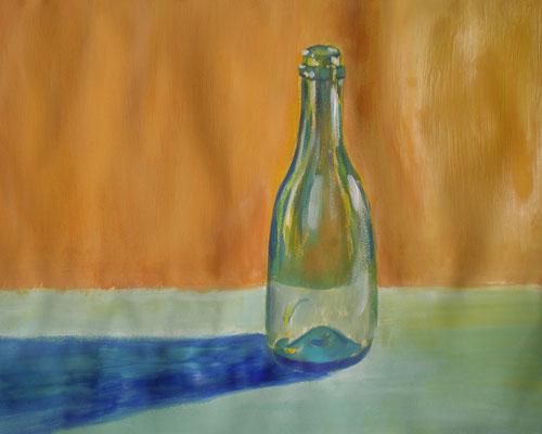 Gouacheübung Glas