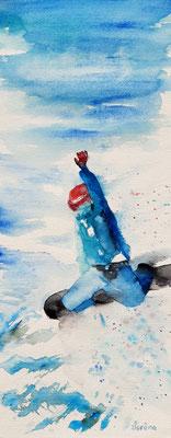 Jump3! 20 x 50 - nicht eingerahmt/ohne Passepartout CHF 200