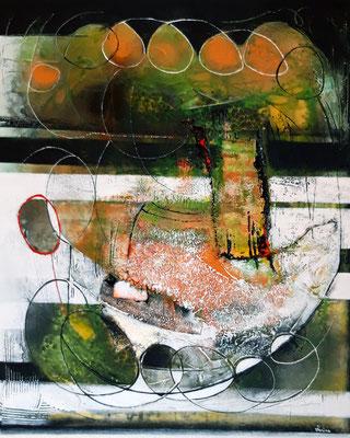A table 80 x 100 Leinwand/canevas CHF 900