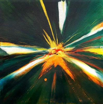 Explosion 50 x 50 Leinwand/canevas CHF 400