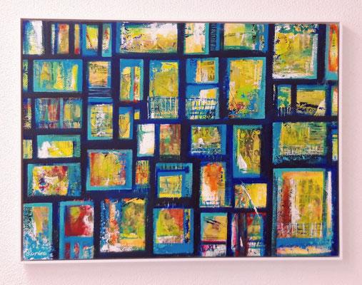Fenêtres 60 x 80 Spanplatte/aggloméré - Schattenfugen eingerahmt/encadré CHF 750