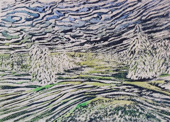 Landschaft 16 Aquarellpapier