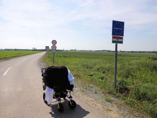 An der Grenze zu Ungarn!