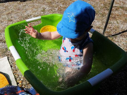 Wasserschafferlplantschen!