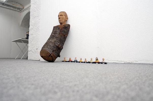 Ausstellungsansicht Depot K, gemeinsam mit Marcela Böhm, Juni 2019