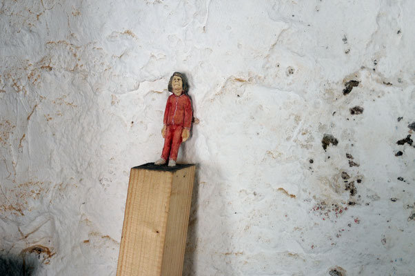 Wandlehner  I  Fichtenholz bemalt